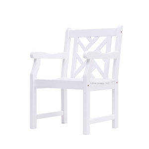Bradley Outdoor Wood Armchair