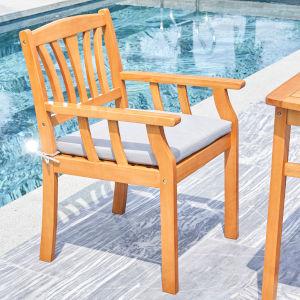 Kapalua Oil-Rubbed Honey Nautical Outdoor Eucalyptus Wooden Dining Chair