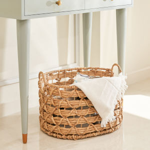 Camila Sandy 20-Inch Storage and Laundry Basket