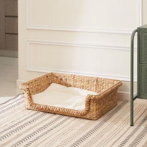 Amaya Sandy 29-Inch Cat House Set with Cushion