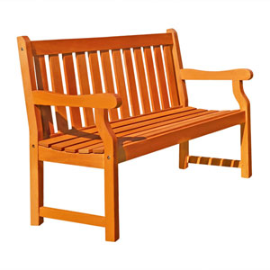 Outdoor Two-Seater Henley Bench