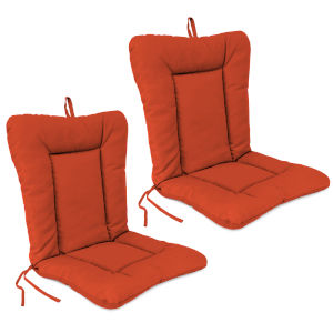 Spectrum Grenadine 21 x 38 Inches Outdoor Chair Cushions, Set of Two