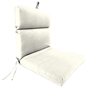 Sailcloth Salt Rain 22-Inch x 44-Inch x 4-Inch Outdoor Chair Cushion- 1-Pack