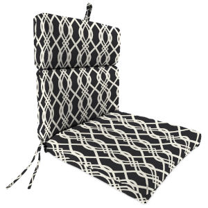 Hedda Tuxedo 22 x 44 Inches Universal Chair Cushion