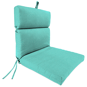 Sailcloth Aruba Rain 22-Inch x 44-Inch x 4-Inch Outdoor Chair Cushion- 1-Pack