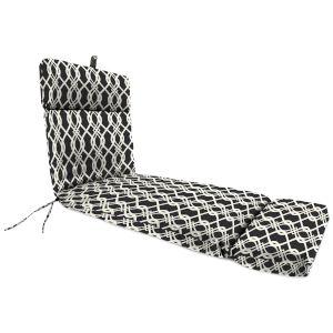 Hedda Tuxedo 22 x 72 Inches Universal Lounge Cushion