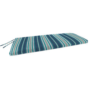 Terrace Stripe Caribe Outdoor Bench Cushion