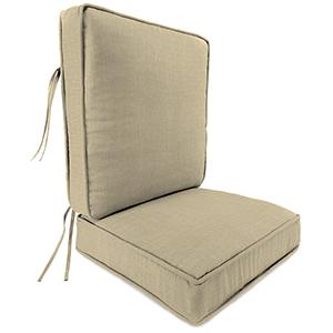 Spectrum Sand Rain 2-Piece Attached Deep Seat Cushion