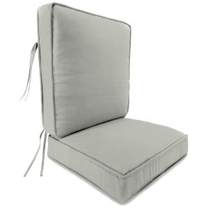 Canvas Granite 2-Piece Attached Deep Seat Cushion