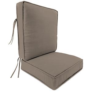 Cast Shale 2-Piece Attached Deep Seat Cushion