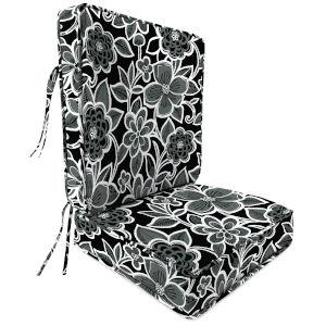 Halsey Shadow 22 x 45 Inch Outdoor Chair Cushion