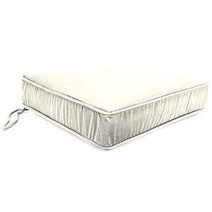 Sailcloth Salt 22.5-Inch x 21.5-Inch x 5-Inch Outdoor Deep Seat Chair Cushion- 1 Pack