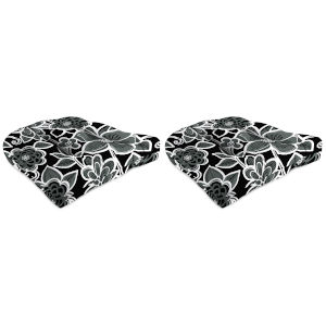 Halsey Shadow Outdoor Chair Cushion, Set of Two