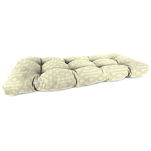 44-Inch x 18-Inch x 4-Inch Outdoor Wicker Settee Cushion- 1-Pack