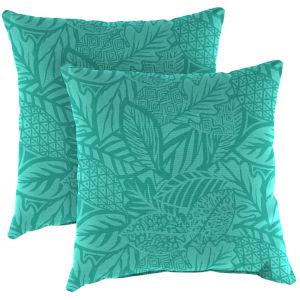 Maven Lagoon Outdoor Throw Pillow, Set of Two
