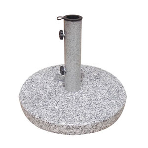 Bases Natural Granite Round Umbrella Base