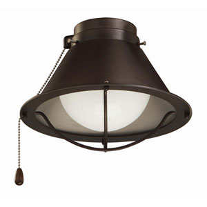 Oil Rubbed Bronze Seaside LED Ceiling Fan Light Fixture