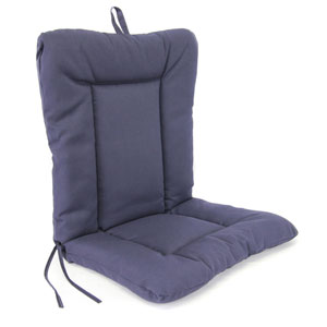 Navy Euro Style Chair Cushion