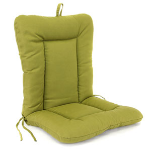 Olive Euro Style Chair Cushion