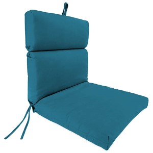 Fresco Peacock Universal Chair Cushion