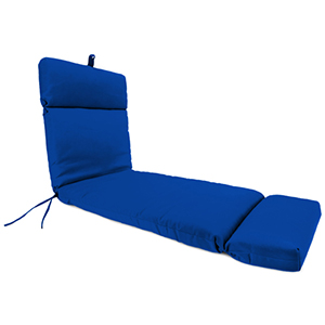 Universal Canvas Pacific Blue Chaise Lounge Chair Cushion