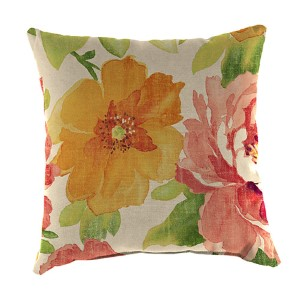 Muree Primrose 18-Inch Square Toss Pillow