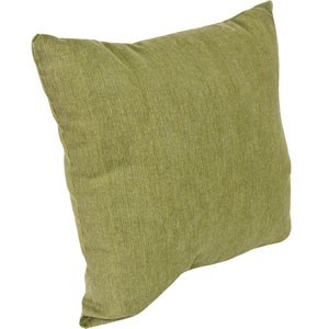 Outdoor Toss Pillows Olive 16-Inch Square Toss pillow