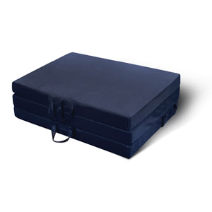 Twin Trifold Navy Mat