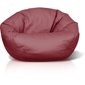 Classic Large Burgundy Bean bag