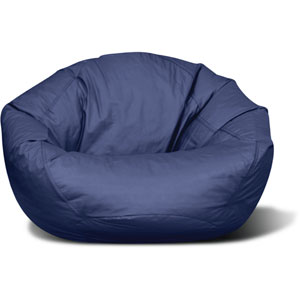 Classic Medium Navy Bean bag