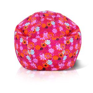 Junior Flower Power Print Bean bag