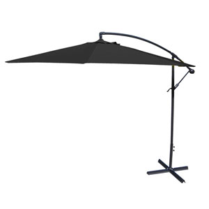 Black Offset Umbrella