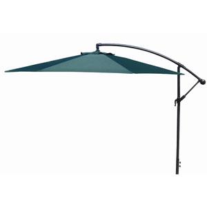 Offset Umbrellas Green 10-Foot Steel Offset Umbrella