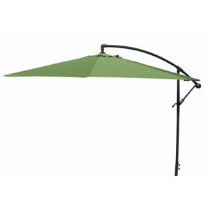 Offset Umbrellas Olive 10-Foot Steel Offset Umbrella