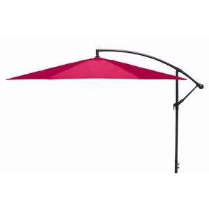Offset Umbrellas Red 10-Foot Steel Offset Umbrella