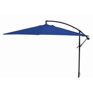 Offset Umbrellas Royal Blue 10-Foot Steel Offset Umbrella