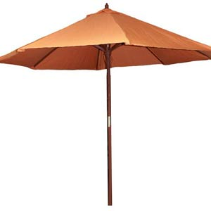 9-Foot Market Umbrella - Orange
