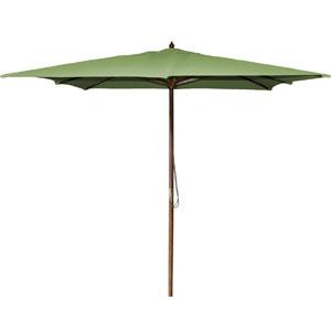 Square Market Umbrellas Olive 8.5-Foot Square Wood Umbrella