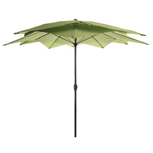 Olive Lotus Umbrella