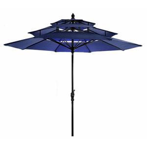 Navy Three Tier Umbrella