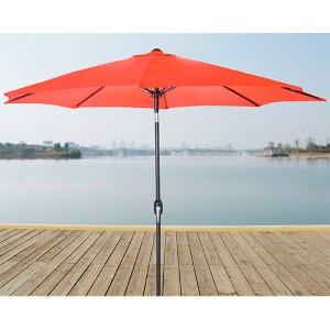 Melon 9-Foot Steel Market Umbrella
