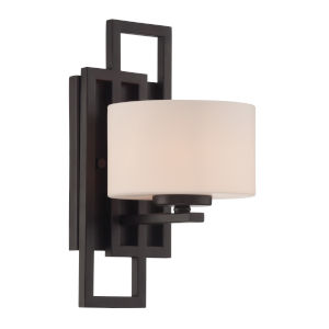 Adalyn Frosted One-Light Wall Sconce