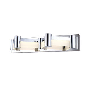Kellen Chrome 23-Inch LED Wall Sconce