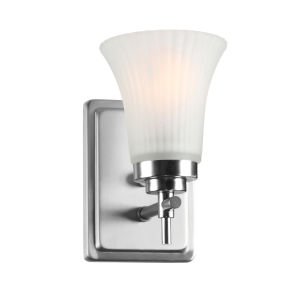 Bendek Frosted One-Light Wall Sconce