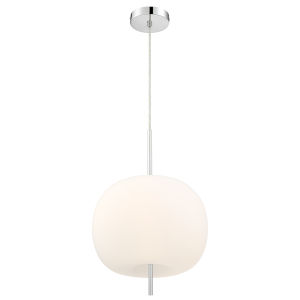 Jubilee Frosted 12-Inch Three-Light LED Pendant