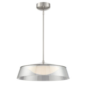 Noor Smoked 18-Inch One-Light LED Pendant