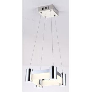 Kellen Chrome Nine-Inch One-Light LED Mini Pendant