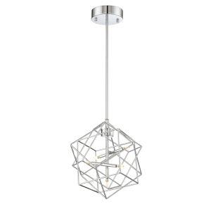 Stacia Chrome 11-Inch Five-Light LED Pendant