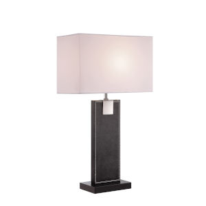 Remigio Black 24-Inch One-Light Table Lamp