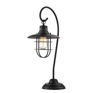 Lanterna Ii Dark Bronze One-Light Desk Lamp